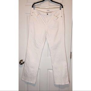 Liz Claiborne white jeans
